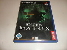PlayStation 2 PS 2 Enter the Matrix
