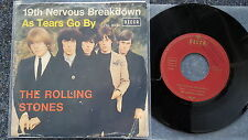 The Rolling Stones - 19th nervous breakdown 7'' Single Garden Cover