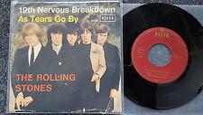 The Rolling Stones - 19th nervous breakdown 7'' Single Garden Cover