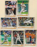 2019 TOPPS SERIES 1  Kyle Tucker  Jose Altuve  Houston Astros   7 CARD LOT