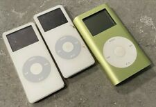 Used Apple iPods 2-Nano 1 Mini unlocked and updated