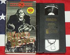 King Kong (VHS, 1993, Roaring Box Set) Collector's Edition Horror Sci Fi RARE