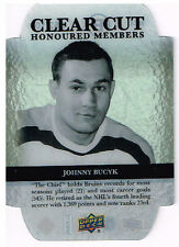 11-12 Upper Deck CLEAR CUT xx/100 Made! Johnny BUCYK - Bruins