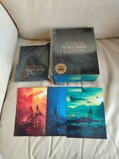 Star Wars Force Awakens Box, Blufans, Empty Box No Steelbooks, with 4 postcards