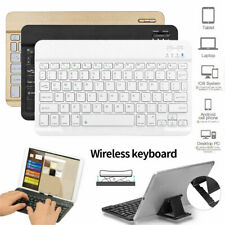 "US Slim Univesal 10"" Wireless Keyboard Portable For IOS Android Windows Tablets"