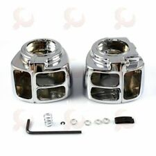 Chrome Switch Housing Cover For Harley Softail Heritage Classic FLSTC 1996-10 FB
