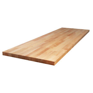 Massivholzplatte Buche L1.2m-4m B620mm-960mm T27mm-40mm, Massive Küchenplatte