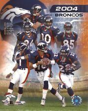 DENVER BRONCOS 8x10 (John Lynch Champ Bailey Rod Smith Elam) 2004 NFL TEAM PHOTO