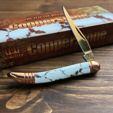 Rough Rider Copperstone Toothpick Folding Pocket Knife RR1528
