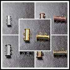 10Sets Silver/Gold 2row Plated Powerful Magnet Clasps Findings