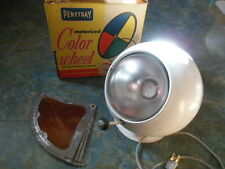 Penetray Deluxe Motorized Color Wheel For Parts Light OK Not Turning w/ Box 1