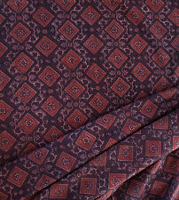 Desert Fabric from Rajasthan Ajrakh Traditional Cotton. 2½ Yards Tribal Art