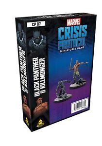 Marvel Crisis Protocole Noir Panthère Et Kilmonger
