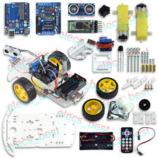 UCTRONICS Ultrasonic Remote Control Bluetooth Smart Car Kit for Arduino UNO