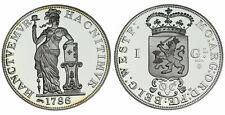 Zilveren Proof replica -  1 Gulden zilver 1786  .925 zilver, 31,1 gram