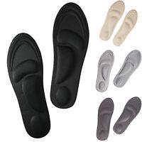 DIY Einlegesohlen Memory-Schaum Einlagen Fußbett Schuheinlagen Fersensporn Sohle
