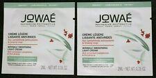 Lot 2 Jowae Phytosctive Paris Wrinkle Smoothing Light Cream Sample 2 x 2 ml. New