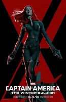Captain America poster - The Winter Soldier  - 11 x 17 - Black Widow poster
