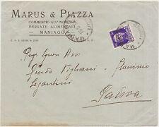 MANIAGO - MARUS & PIAZZA COMMERCIO ALL'INGROSSO DERRATE ALIMENTARI (PORDENONE)