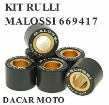 669417 SET ROULEAUX MALOSSI HTROLL Ø 15X12 GR 8,3 YAMAHA BW'S 100 2T