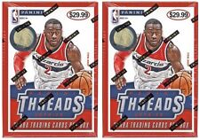 (2) 2014-15 Panini THREADS Basketball NBA Cards New 20ct. Hobby Blaster Box LOT