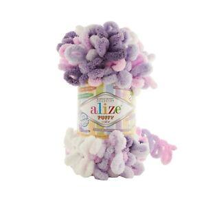 Alize Puffy Yarn 100g ball 6305