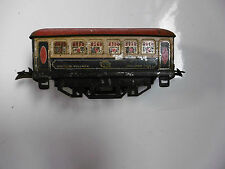 TRAIN O HORNBY VOITURE VOYAGEURS TOIT ROUGE