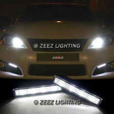 Xenon White 4 LED Daytime Running Light DRL Daylight Kit Day Driving Lamp C12