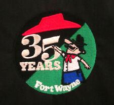 PIZZA HUT small jacket restaurant 35 Year Anniversary coat Michigan black