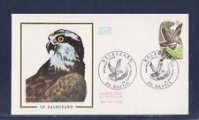 enveloppe 1er jour  faune oiseau  balbuzard   Bastia   1978