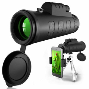 Monokular Starscope Teleskop 40X60 Hochleistungs HD Monokular mit phone Halfter.