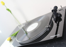 Pro-Ject Essential III A Turntable (Black) with Ortofon OM10 Cartridge