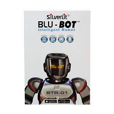 Robot Silverlit Blu-Bot Remote Control Robot White interactive robot
