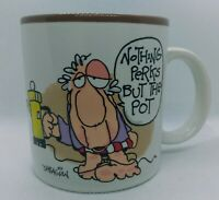 Mug Shots Dabagian Potpourri Press 1987 Coffee Cup Vintage Nothing Perks But Pot