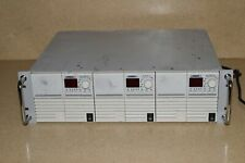 LAMBDA UP60-14 DC ADJUSTABLE POWER SUPPLY 0-60V 0-14A - LOT OF 3- IN CHASSIS(#3)