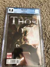 Mighty Thor #10 CGC 9.8 NM/MT Parel 1:50 Venom Variant Newly Graded RARE