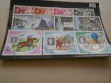 Briefmarken Laos gestempelt   Privatverkauf