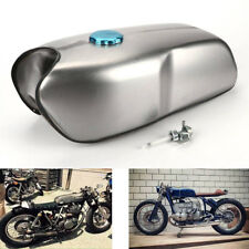 9L / 2.4 Gallon Cafe Racer Universal Custom Gas Fuel Tank for Yamaha BMW Honda