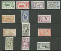 FALKLAND IS SG172-84 THE 1952 GVI SET OF 13 TO 10/- SUPERB MNH CAT £160