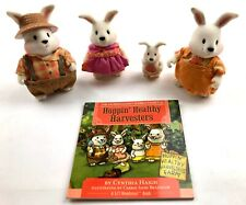 Lil Woodzeez Hoppingood Rabbit Family Plus Storybook.
