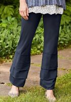 NWT New MATILDA JANE Women's SMALL Navy Blue VEGABOND FINNS Ruffle Pants