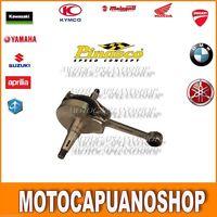 ALBERO MOTORE PINASCO VESPA PX 125 - 150 ANTICIPATO CORSA 57 MM, CONO 20MM