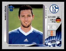 Panini Champions League 2012-2013 Marco Höger FC Schalke 04 No. 111