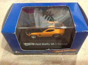 HO Scale 2007 Hot Wheels Diecast 1:87 Ford Shelby GR-1 Concept Orange/Black
