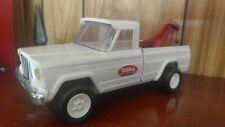 Tonka ~ Jeep Wrecker / Tow Truck ~ White Comanche pickup ~ Private collection