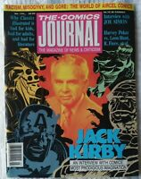 THE COMICS JOURNAL #134 50 page Jack Kirby Interview, 1990.
