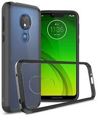 For Motorola Moto G7 Power / G7 Supra / G7 Optimo Maxx Case Hybrid Phone Cover