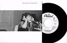 PAUL MCCARTNEY - STRANGLEHOLD - CAPITOL WLP - 45 + PICTURE SLEEVE