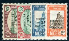 NIGER 1941 Yvert 89-92 ** POSTFRISCH TADELLOS SATZ (F4621