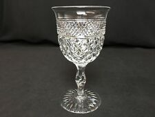 """Sparkling Thomas Webb Crystal Russell 6&1/8"""" Water Goblet  **Excellent**"""